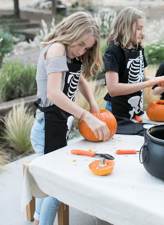 """<p>Carving pumpkins is the best Halloween activity to show of your crafting skills and get your hands a little dirty (plus, it gives you an excuse to whip up a bunch of delicious <a href=""""https://www.delish.com/holiday-recipes/halloween/g2937/ways-to-use-pumpkin-seeds/"""" target=""""_blank"""">pepita recipes</a>). But you've been there, done that with the toothy grin and triangle nose. <a href=""""http://www.housebeautiful.com/halloween-party-ideas/"""" target=""""_blank"""">This Halloween</a>, mix it up with a creative new design no one else on your block will have. If that seems too complex for your knife skills, skip carving altogether and try one of our <a href=""""http://www.housebeautiful.com/entertaining/holidays-celebrations/g2627/pumpkin-decorating-ideas/"""" target=""""_blank"""">painted pumpkin ideas</a> instead! </p>"""