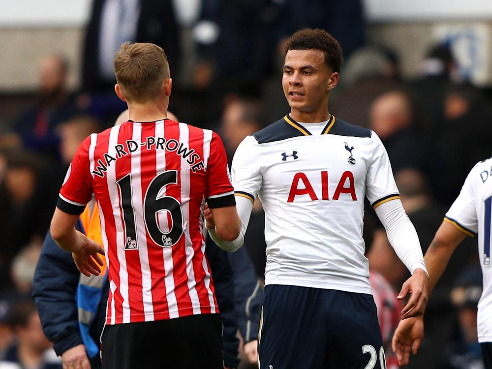 Dele Alli has been playing higher up the pitch in Mauricio Pochettino's system this season: Getty