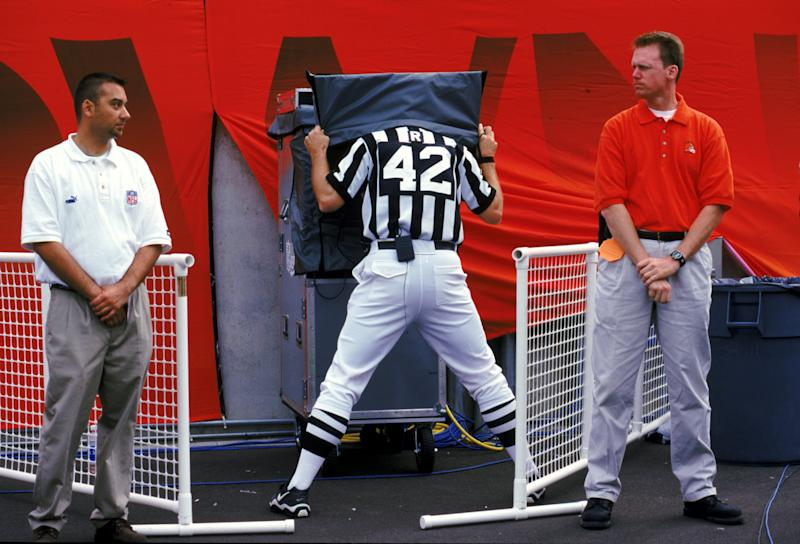 The NFL reinstituted replay in 1999. (Getty)