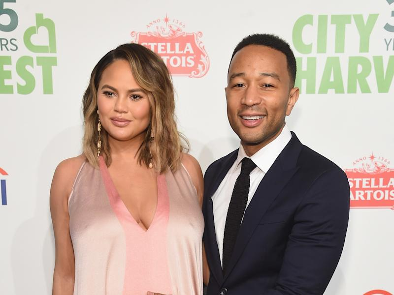 1a0eb7b23d544 Chrissy Teigen and John Legend Welcome Their Second Child