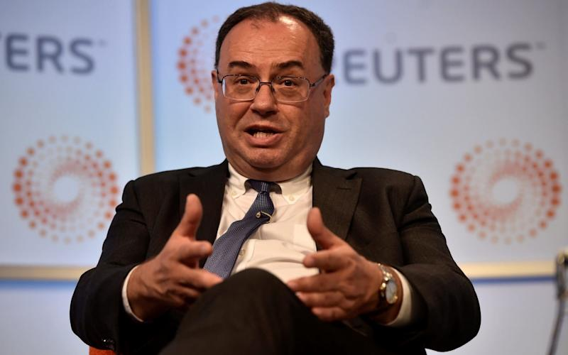 FCA chief Andrew Bailey said there is