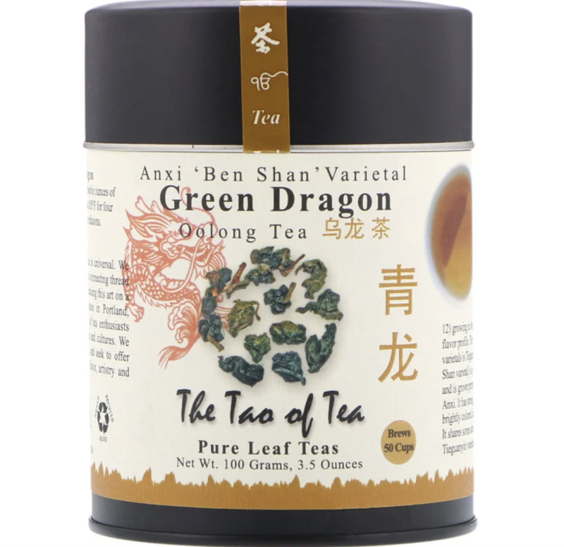 The Tao of Tea, Oolong Tea, Green Dragon, 100g, S$13.68. PHOTO: iHerb