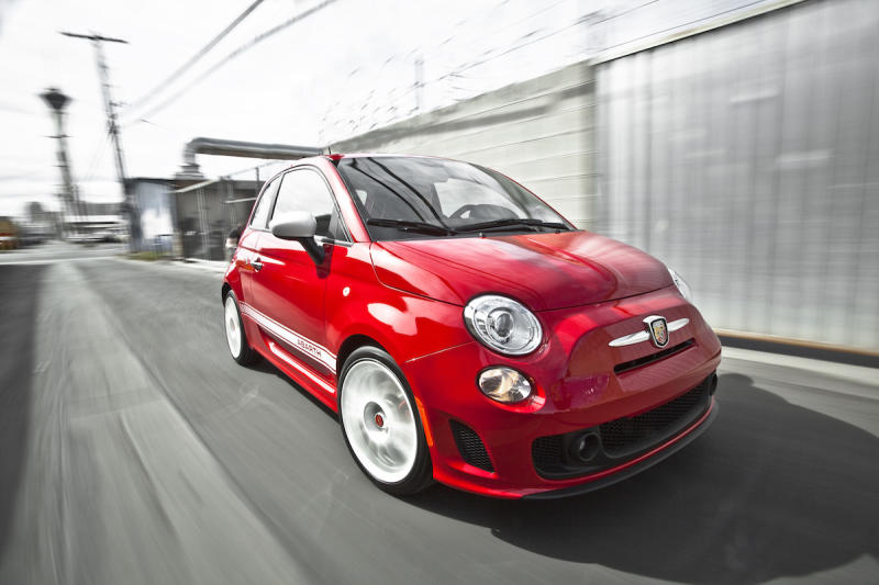 2016 Fiat 500 Abarth >> Why The 2016 Fiat 500 Abarth Would Make An Excellent Google Car