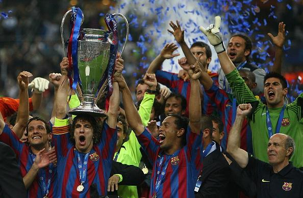 Barcelona Champions League 2006