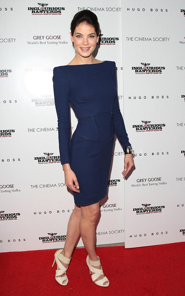 """<a href=""""http://movies.yahoo.com/movie/contributor/1804504037"""">Michelle Monaghan</a> at the New York Cinema Society screening of <a href=""""http://movies.yahoo.com/movie/1808404206/info"""">Inglourious Basterds</a> - 08/17/2009"""