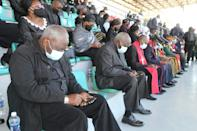 African leaders paid tribute to Kaunda's role in the fight against white-minority rule in southern Africa