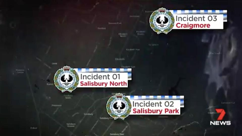 It's one of three feared abduction attempts on students in Adelaide's northern suburbs in just one week. Source: 7 News