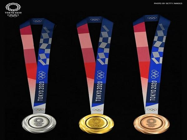 First, second and third place medal (Image: #Tokyo2020 for India's Twitter)