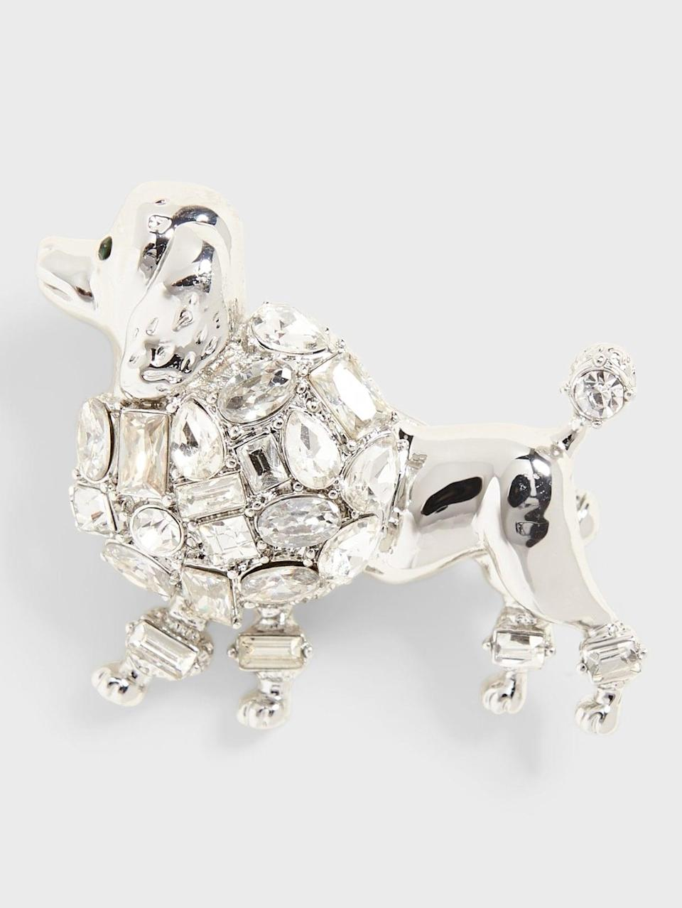 <p>Have you been working from home and your dog has become your co-worker? This <span>Banana Republic Poodle Brooch</span> ($48) is for you!</p>