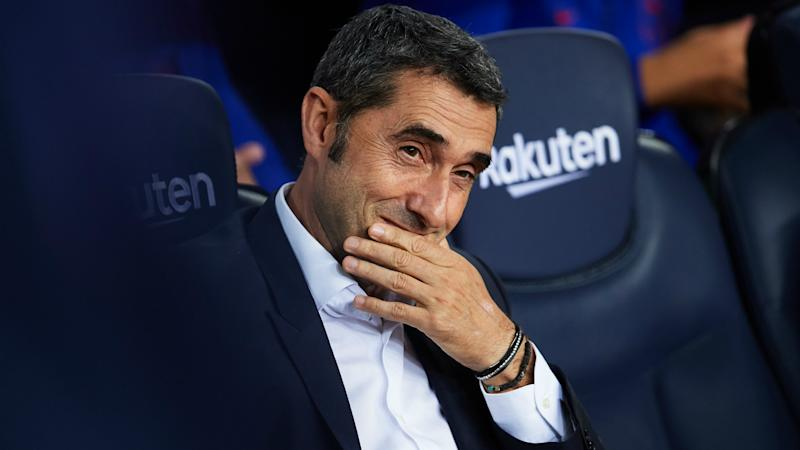 Valverde insists he is 'not worried' about Barcelona future