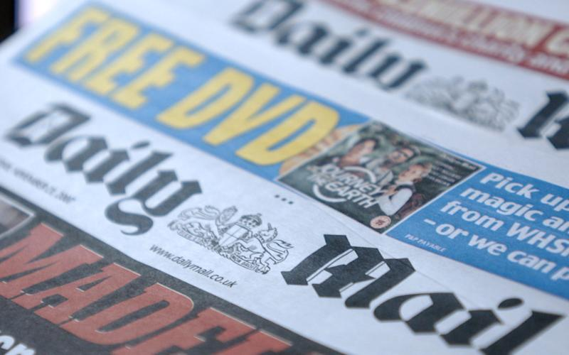 The MailOnline had previously been more than making up for falling sales of the Daily Mail and Mail on Sunday