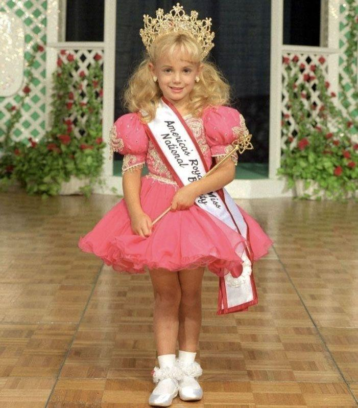 JonBenét Ramsey's body was found dead beaten and strangled body in her parents' Colorado basement. Photo: Supplied