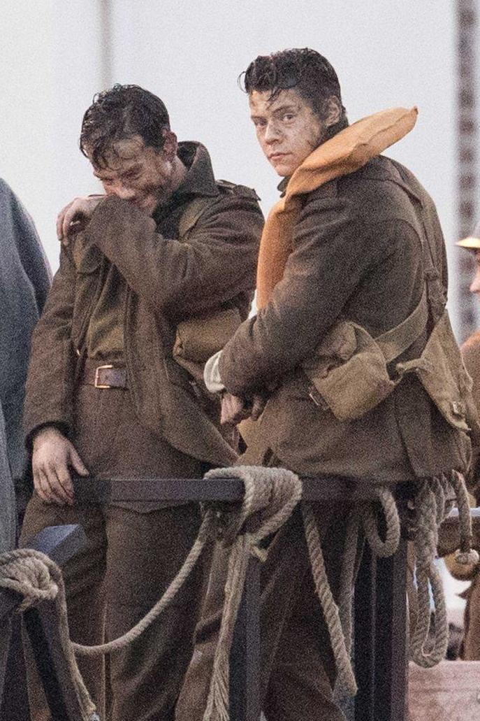 Harry Styles in Dunkirk (Deano / Splash News)