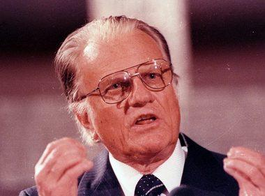 File image of Billy Graham. Reuters