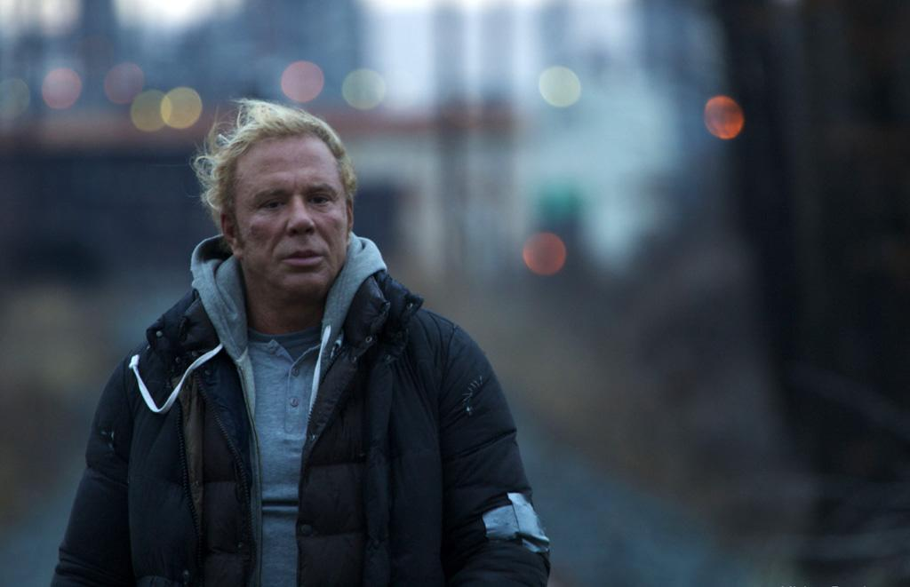 "<a href=""http://movies.yahoo.com/movie/contributor/1800010853"">Mickey Rourke</a> in Fox Searchlight's <a href=""http://movies.yahoo.com/movie/1809994789/info"">The Wrestler</a> - 2008"
