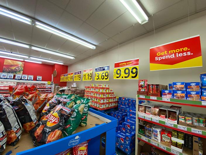 grocery store items on sale