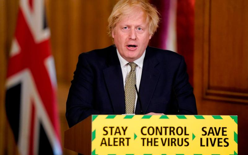 On Sunday, Mr Johnson said Year 10 and 12 students would receive some contact time with teachers before the summer holidays - Andrew Parsons/AFP