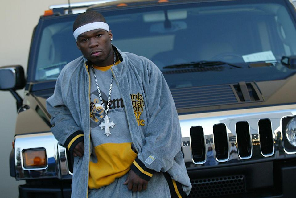 "<p>Before he was famous, 50 Cent was shot nine times at point-blank range. He ended up spending 13 weeks in the hospital to recover. His album <em>Get Rich Or Die Tryin</em>' was inspired by the traumatic incident. He told <em><a href=""https://www.dailystar.co.uk/gossip/112999/50-Cent-credits-shooting-with-business-sense"" rel=""nofollow noopener"" target=""_blank"" data-ylk=""slk:The Daily Star"" class=""link rapid-noclick-resp"">The Daily Star</a> </em>the experience changed him: ""I will be the person with the least amount of fear in the room when we're negotiating business, because I'll weigh it up against situations far more dramatic than a deal going bad—like the loss of my mom, or the confusion after being shot. Not knowing what I was going to do with my life after being shot hurt more than being physically shot.""</p>"