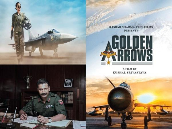 A collage of upcoming patriotic films (Image Source: Social Media)