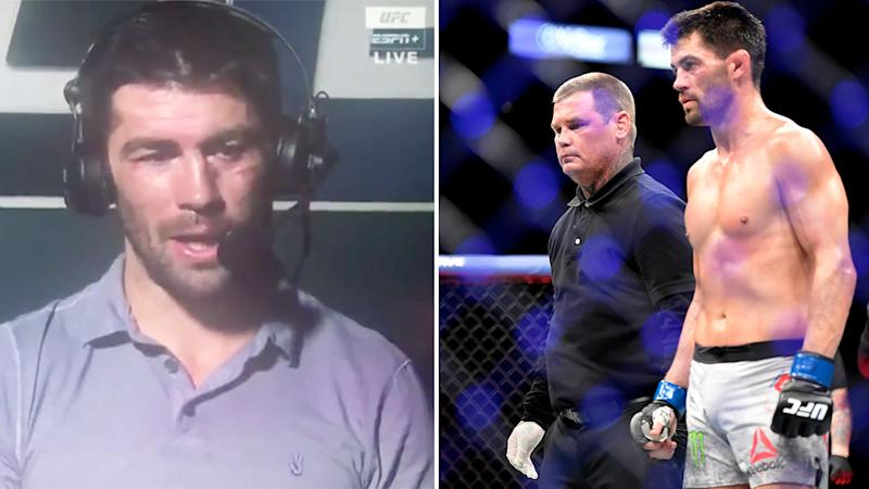 Dominick Cruz has levelled a serious accusation against referee Keith Peterson. Pic: ESPN/Getty