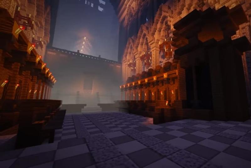 Minecraft' modders recreate Great Fire of London for