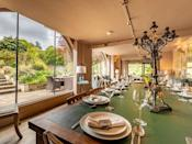 """<p><a class=""""link rapid-noclick-resp"""" href=""""https://go.redirectingat.com?id=127X1599956&url=https%3A%2F%2Fwww.holidaycottages.co.uk%2Fcottage%2F60009-the-weir-house&sref=https%3A%2F%2Fwww.cosmopolitan.com%2Fuk%2Fentertainment%2Ftravel%2Fg30057269%2Fhen-party-houses%2F"""" rel=""""nofollow noopener"""" target=""""_blank"""" data-ylk=""""slk:SEE INSIDE"""">SEE INSIDE</a></p><p>The location, garden with river views and elegant interiors - this is a hen party house for a classy weekend for the bride-to-be. There's a fire pit, a living area that's perfect for pre-dinner drinks and even a bar at the 12-person house. In the summer, you can swim in the River Teme and you'll love the garden space for alfresco cocktails. </p><p><strong>Sleeps:</strong> 12</p><p><strong>Price: </strong>From £2,859 for two nights (£238.25 per person)</p>"""