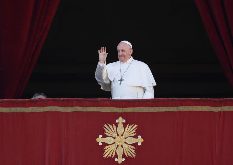 """Pope Francis delivers the Christmas Day """"Urbi et Orbi"""" message"""