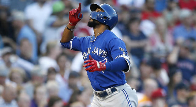Teoscar Hernandez's 'OCA' nickname is pretty sweet. (AP Photo/Michael Dwyer)
