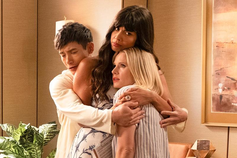 Jameela Jamil says The Good Place will have a 'devastating' but 'perfect' ending