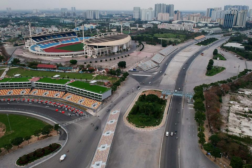 The Vietnam Grand Prix has been dropped from the 2021 Formula One calendar without staging a race (AFP via Getty)