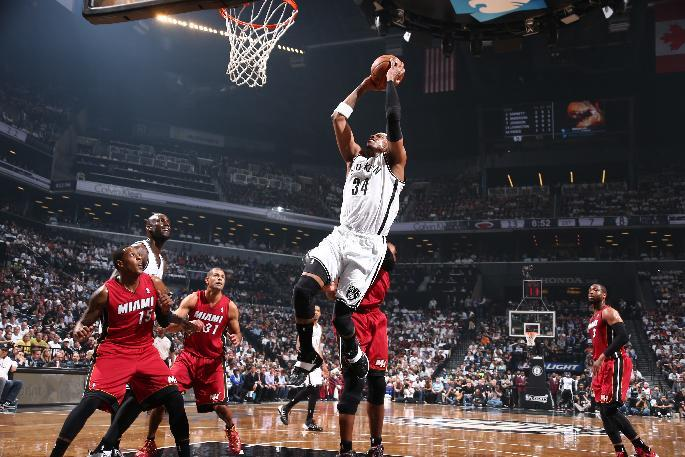 Nets try to back up belief by beating Heat again