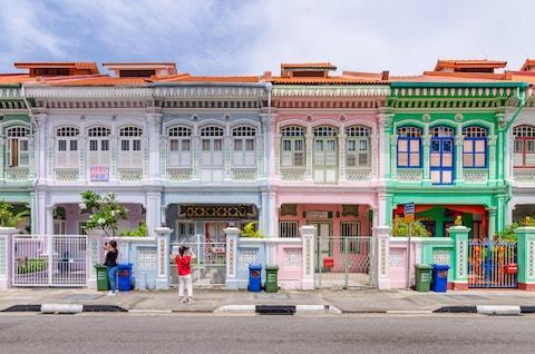 Colourful shophouses in Joo Chiat - Credit: istock