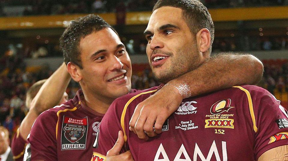 Justin Hodges was one of the last people to speak to Greg Inglis before he went into rehab. Pic: Getty