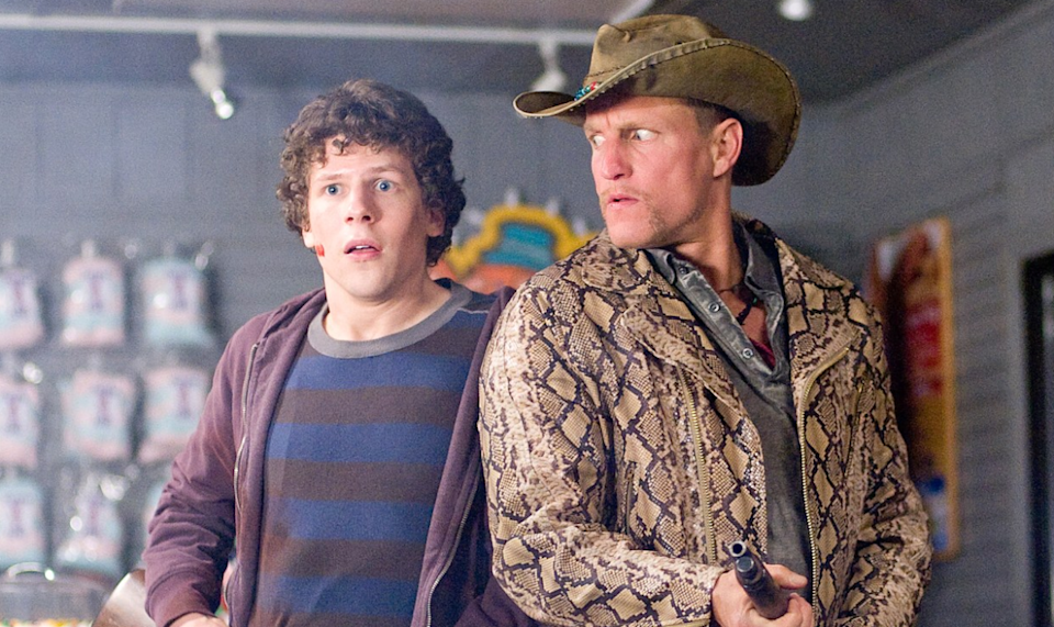 Jesse Eisenberg and Woody Harrelson take on the undead once again in sequel 'Zombieland: Double Tap'.