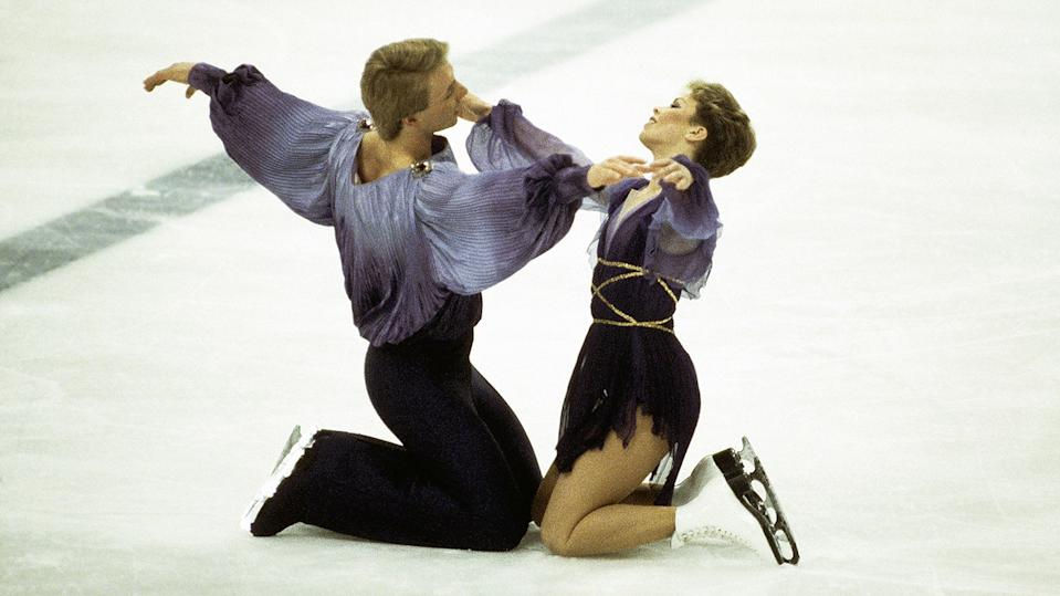 Torvill and Dean recently said they would love to revisit the 1984 Olympics and their infamous Boléro routine (Getty Images)