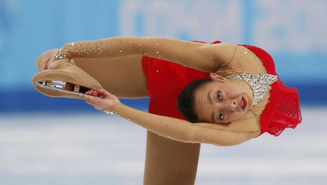 Australia's Brooklee Han competes during the Figure Skating Women's free skating Program at the Sochi 2014 Winter Olympics, February 20, 2014. REUTERS/Alexander Demianchuk (RUSSIA - Tags: OLYMPICS SPORT FIGURE SKATING)