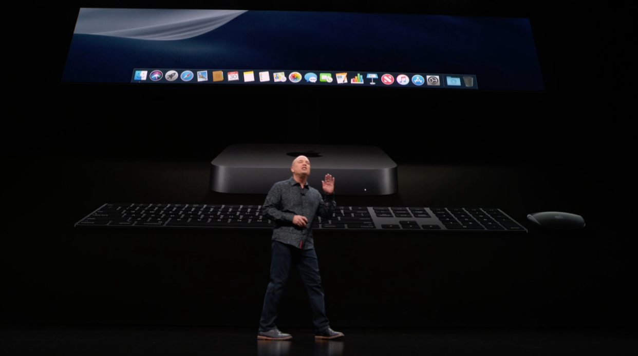 Apple also unveiled a major new update for the Mac Mini desktop.