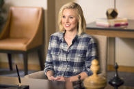 <p><b>Last TV Gig:</b> Bell starred alongside Don Cheadle as Jeannie Van Der Hooven on <em>House of Lies</em>.<br><b>Next Up:</b> Eleanor, a woman who has died and entered the afterlife in NBC's <em>The Good Place</em>.<br><br> (Credit: Justin Lubin/NBC)</p>