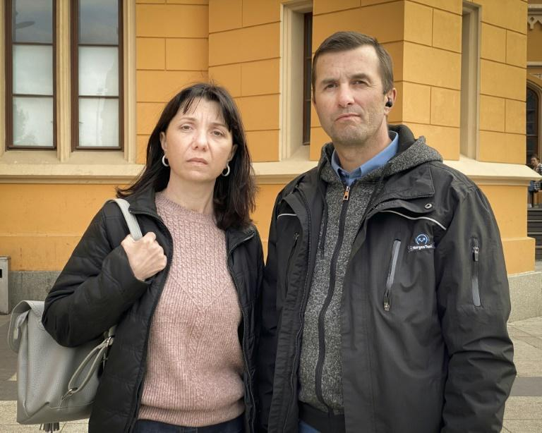 Natalia and Dmitry Protasevichtold AFP they think their son, journalist Roman Protasevich, might be in a detention centre run by the Belarusian secret service, still known as the KGB