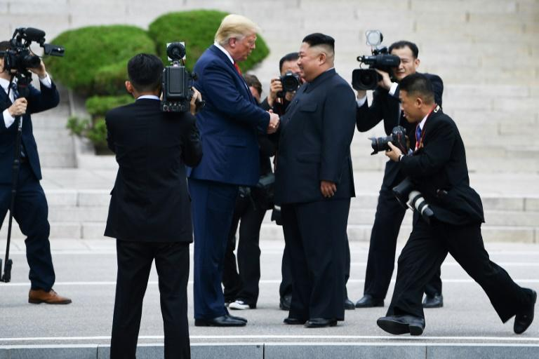 """Despite stalemated talks, Donald Trump has vowed to make deals with North Korea """"very quickly"""" if he wins a second term on November 3"""