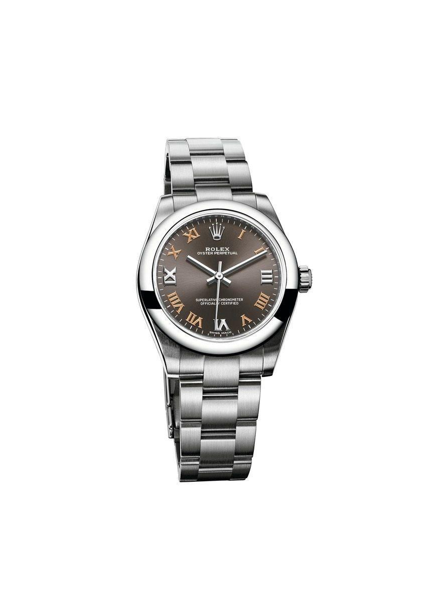 """<p>One of the most important criteria in a luxury watch is its durability. Rolex launched the Oyster 1926 as the first waterproof wristwatch in the world. Since then, this model has remained the backbone of Rolex's designs. The Oyster Perpertual is waterproof to 330 feet and is made of corrosion-resistant Oystersteel, which, for an entry-level price point, is a quality and timeless material.</p><p><a href=""""https://www.rolex.com/watches/oyster-perpetual/m177200-0018.html"""" rel=""""nofollow noopener"""" target=""""_blank"""" data-ylk=""""slk:Rolex Oyster Perpetual 31"""" class=""""link rapid-noclick-resp""""><br>Rolex Oyster Perpetual 31</a>, $5,000.</p>"""