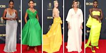 <p>Television's biggest night has come around yet again, and this time it's returning to an in-person ceremony after last year's virtual event. Which means the red carpet is back after last year's winners had to stream their acceptances and turn their homes and living rooms into runways.</p><p>Tonight, the biggest names in television gathered in downtown LA, and they didn't play it safe. From Anna Taylor-Joy to Tracee Ellis Ross, MJ Rodriguez and more, check out all the looks from the 2021 Emmy Awards red carpet, ahead.</p>