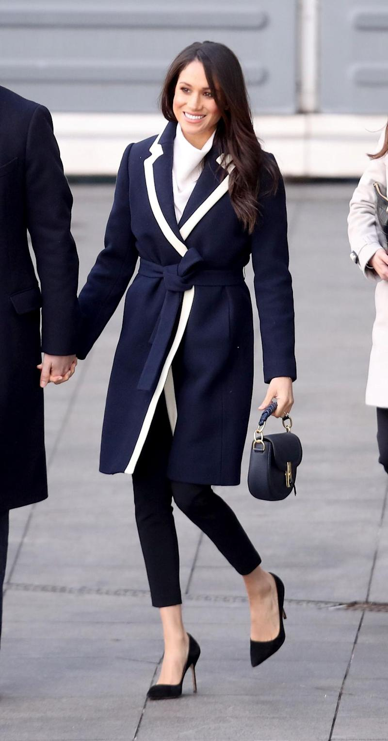 Meghan Markle is said to be considering who will walk her down the aisle. Photo: Getty Images