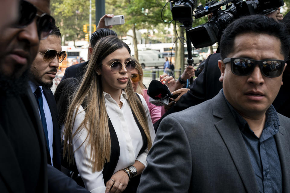 """Emma Coronel Aispuro, wife of Joaquin """"El Chapo"""" Guzman, will join the cast of a VH1 reality show. (Photo: Drew Angerer/Getty Images)"""