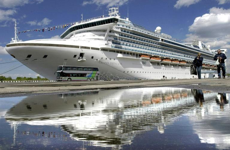 The Grand Princess belongs to Princess Cruises, the same company which operated the coronavirus-stricken ship held off Japan last month on which more than 700 people on board tested positive