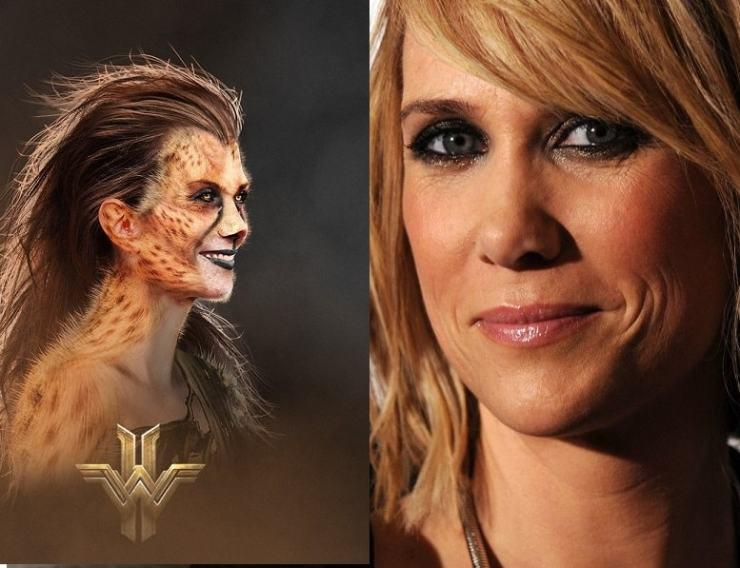 Kristen Wiig as the Villain in Wonder Woman 1984