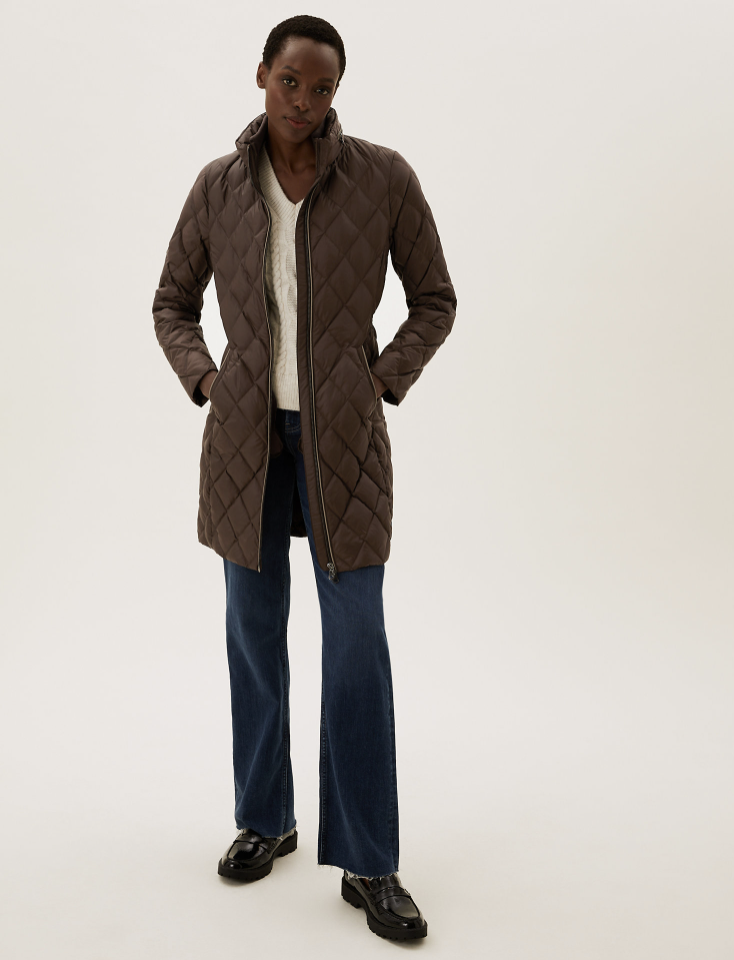 It's made with special Stormwear™ technology for a water-repellent finish. (Marks & Spencer)