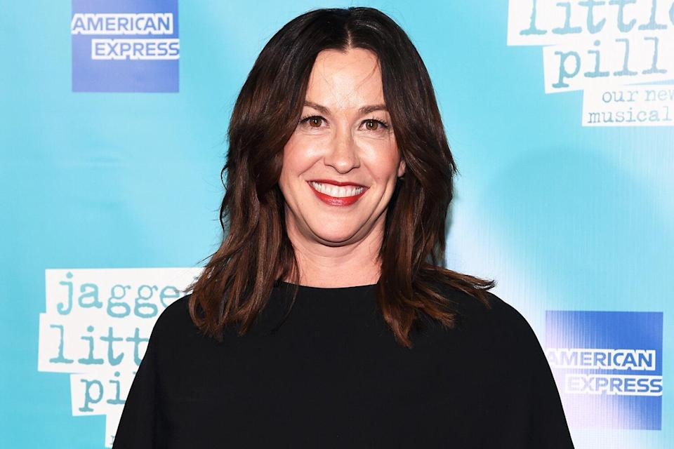 """Alanis Morissette attends the opening night of the broadway show """"Jagged Little Pill' at Broadhurst Theatre on December 05, 2019 in New York City."""