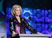 """<p>Fonda has been extremely open about her <a href=""""https://www.prevention.com/health/health-conditions/a27033420/jane-fonda-cancer-british-vogue-cover/"""" rel=""""nofollow noopener"""" target=""""_blank"""" data-ylk=""""slk:skin cancer journey"""" class=""""link rapid-noclick-resp"""">skin cancer journey</a> and her health struggles in general. In a cover interview for <em>British Vogue</em>, she said, """"I've had a lot of cancer. I was a sun-worshipper. When I have a day off, I frequently go to my skin doctor and have things cut off me by a surgeon."""" Fonda's cancer treatment is still an """"ongoing process,"""" but she isn't letting her health get int he way of what she has to offer. Fonda is set to star in <a href=""""https://www.prevention.com/life/a26910133/grace-and-frankie-season-6-release-date-cast-news/"""" rel=""""nofollow noopener"""" target=""""_blank"""" data-ylk=""""slk:season 6 of"""" class=""""link rapid-noclick-resp"""">season 6 of </a><em><a href=""""https://www.prevention.com/life/a26910133/grace-and-frankie-season-6-release-date-cast-news/"""" rel=""""nofollow noopener"""" target=""""_blank"""" data-ylk=""""slk:Grace and Frankie"""" class=""""link rapid-noclick-resp"""">Grace and Frankie</a></em>. </p>"""