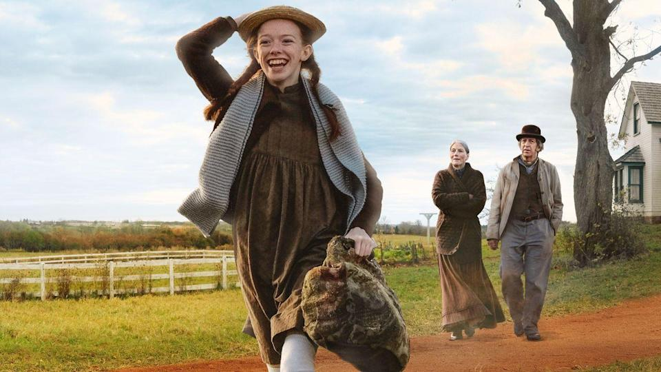 """<p>Anne runs across some tough situations in this series, but <em>Anne of Green Gabl</em><em>es </em>fans shouldn't miss this most recent retelling of the orphan's adventures. </p><p><a class=""""link rapid-noclick-resp"""" href=""""https://www.netflix.com/watch/80198385"""" rel=""""nofollow noopener"""" target=""""_blank"""" data-ylk=""""slk:WATCH NOW"""">WATCH NOW</a></p><p><strong>RELATED:</strong> <a href=""""https://www.goodhousekeeping.com/life/entertainment/a30389875/anne-with-an-e-cancelled/"""" rel=""""nofollow noopener"""" target=""""_blank"""" data-ylk=""""slk:The Real Reason 'Anne With an E' Was Canceled by Netflix Is Heartbreaking"""" class=""""link rapid-noclick-resp"""">The Real Reason 'Anne With an E' Was Canceled by Netflix Is Heartbreaking</a></p>"""